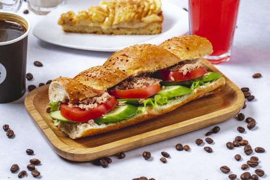 Sandwich Thon/Crudités